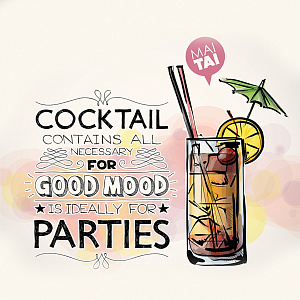 Cocktail 3 Декор 15х15